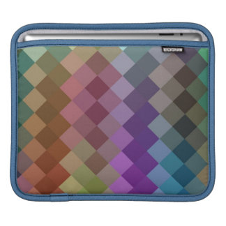 Multicolor Chevron Seamless Pattern 8 iPad Sleeve