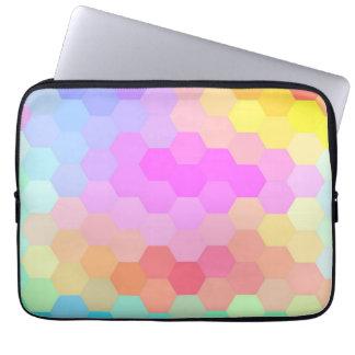 Multicolor Chevron Seamless Pattern Laptop Sleeve