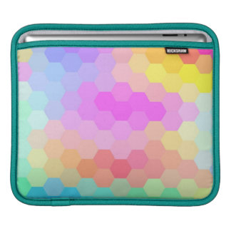 Multicolor Chevron Seamless Pattern Sleeve For iPads