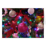 Multicolor Christmas Tree Card