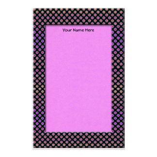 Multicolor Chrome Dots Stationery