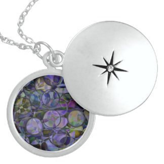 Multicolor Circle Abstract Personalized Necklace
