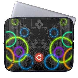 Multicolor Circles Computer Sleeve
