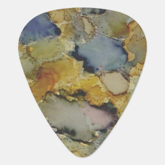 Multicolor colorful dyed guitar picks