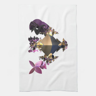 Multicolor contrast light and dark . hand towels
