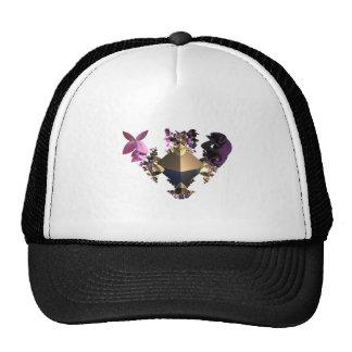 Multicolor contrast light and dark . trucker hat