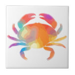 "Multicolor Crab Ceramic Tile<br><div class=""desc"">Multicolor Crab</div>"