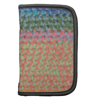 Multicolor Crochet Folio Planner