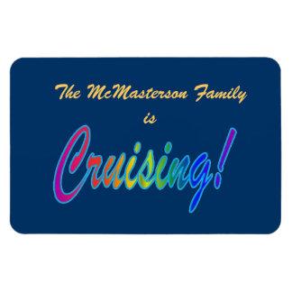 Multicolor Cruising Stateroom Door Marker Flexible Magnet