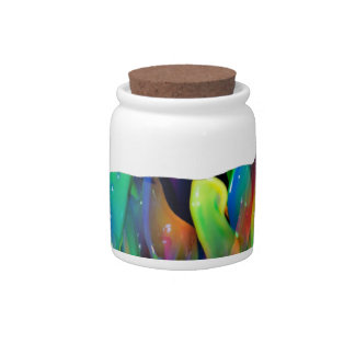 MULTICOLOR DEER PRODUCTS CANDY JARS