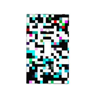 multicolor del pixel tapas para interruptores