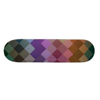 Multicolor Diamond Seamless Pattern 2 Skateboard Deck