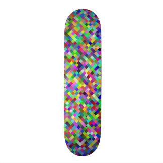 multicolor digitally graphic Design Skate Board Deck