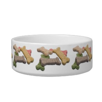 Multicolor Dog Treat Photograph Bowl
