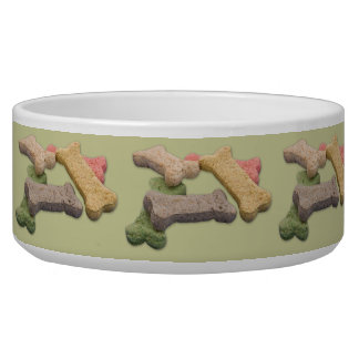 Multicolor Dog Treat Photograph Bowl