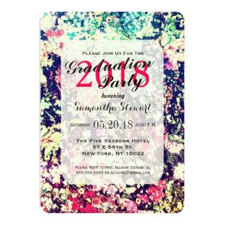 Multicolor Elegant Floral Collage Pattern Card