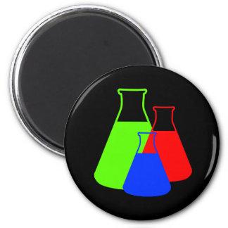 Multicolor Erlenmeyer Flask Magnet