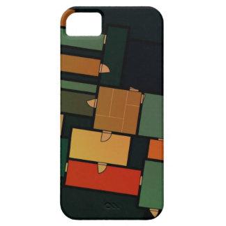 Multicolor Floor Plan iPhone 5 Casing iPhone SE/5/5s Case