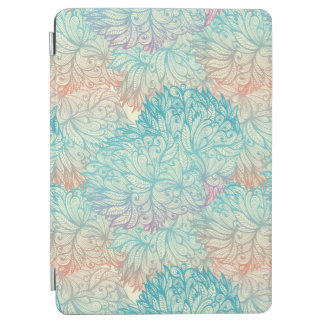 Multicolor Floral Doodle Pattern iPad Air Cover