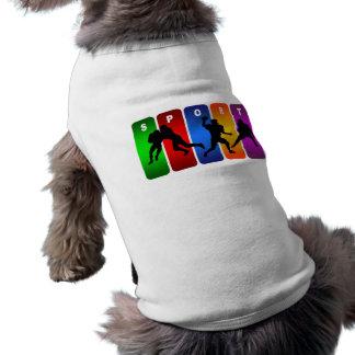 Multicolor Football Emblem T-Shirt