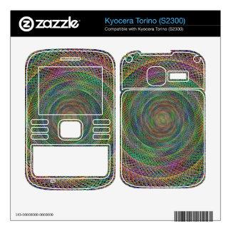 Multicolor fractal kyocera torino skin