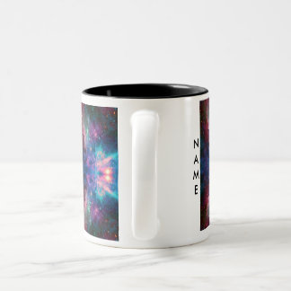 Multicolor Galaxy Mug with Your Name by S. Ambrose