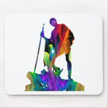 MULTICOLOR GANDHI PRODUCTS MOUSE PADS