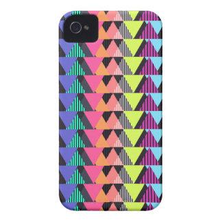 Multicolor Geometric Pattern 2 iPhone 4 Case-Mate Case