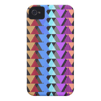 Multicolor Geometric Pattern iPhone 4 Case