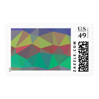 Multicolor Geometric Stamp