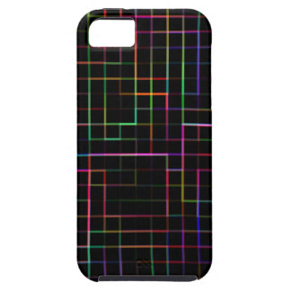 Multicolor grid iPhone SE/5/5s case