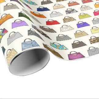 Multicolor Handbag Fashion Gift Wrap