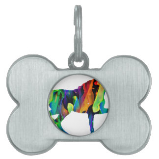 MULTICOLOR HORSE PRODUCTS PET ID TAGS