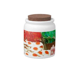 Multicolor-jalea-en-shelfs CAND GOMOSO COLORIDO Jarras Para Caramelos