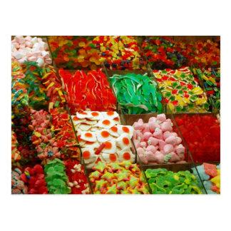 Multicolor-jalea-en-shelfs CAND GOMOSO COLORIDO Postales