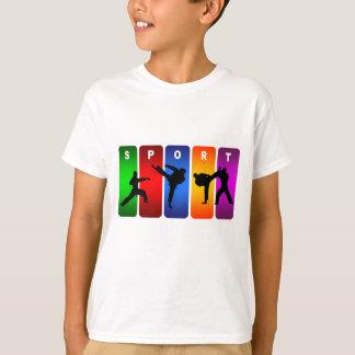 Multicolor Karate Emblem T-Shirt