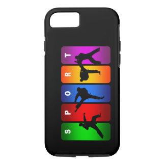 Multicolor Karate iPhone 7 case