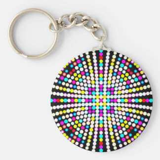 Multicolor keychain