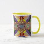 Multicolor Ladder Fractal Mug