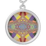 Multicolor Ladder Fractal Custom Necklace
