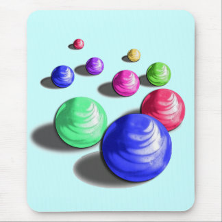 Multicolor Marbles Mouse Pad