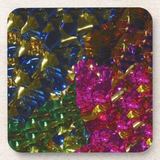 Multicolor Mix Cork Coaster