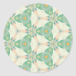 Multicolor Mix & Match Collectables - Round Sticker