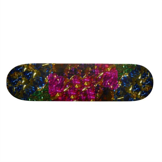 Multicolor Mix Skateboard