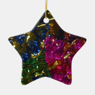 Multicolor Mix Star Ornament
