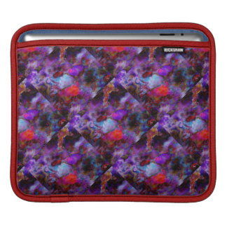 Multicolor Mosaic for horizontal iPad Sleeve