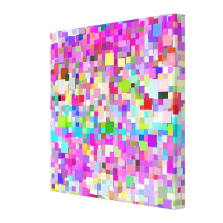 Multicolor Mosaic Pattern #2 Canvas Print
