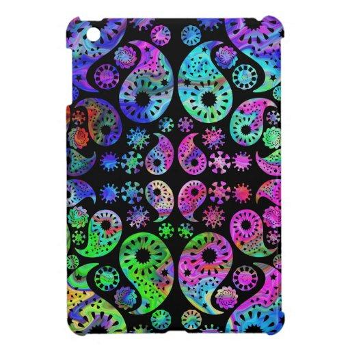 Multicolor Paisley Design. iPad Mini Case