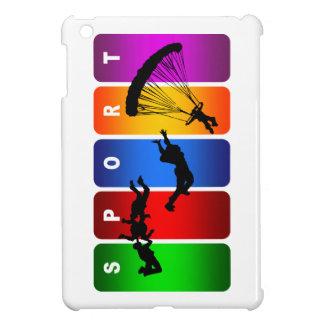 Multicolor Parachuting Emblem Case For The iPad Mini