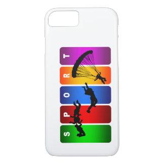 Multicolor Parachuting iPhone 7 case